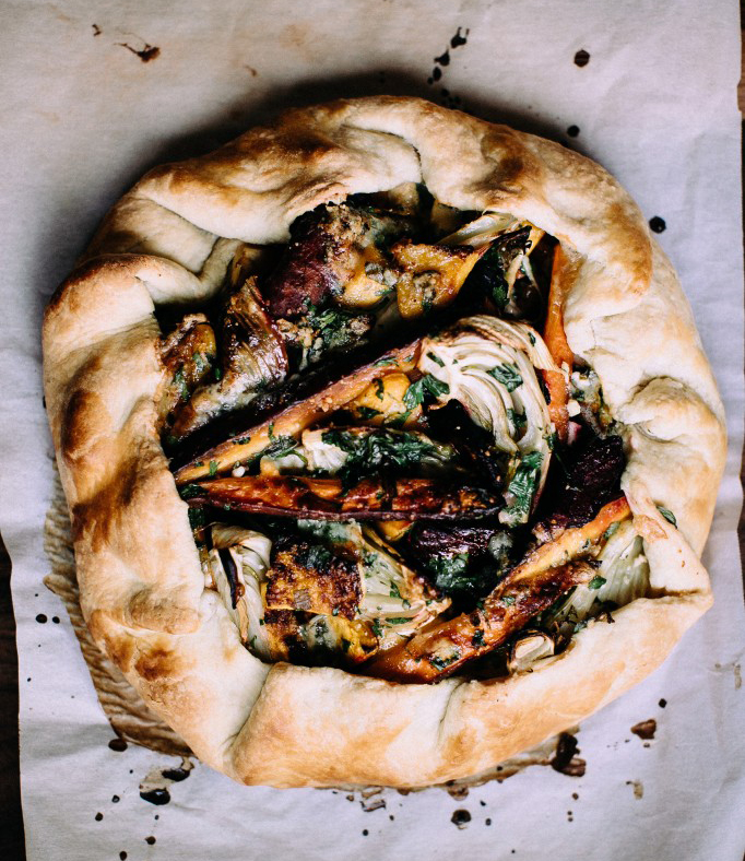 Winter Vegetable + Stilton Galette