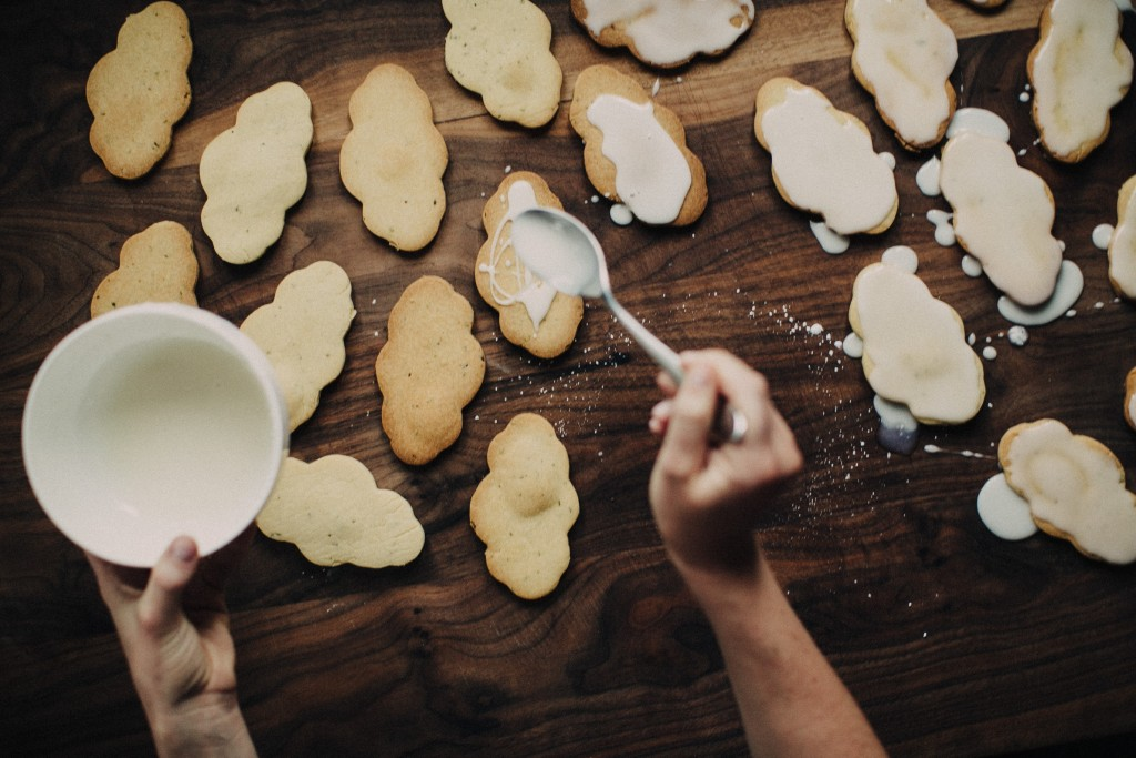 Happyolks | Shortbread Clouds, Three Ways